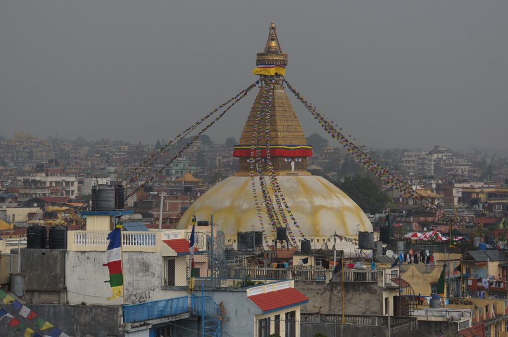 The Boudhanath stupa is one of the most holy sites in Buddhism.