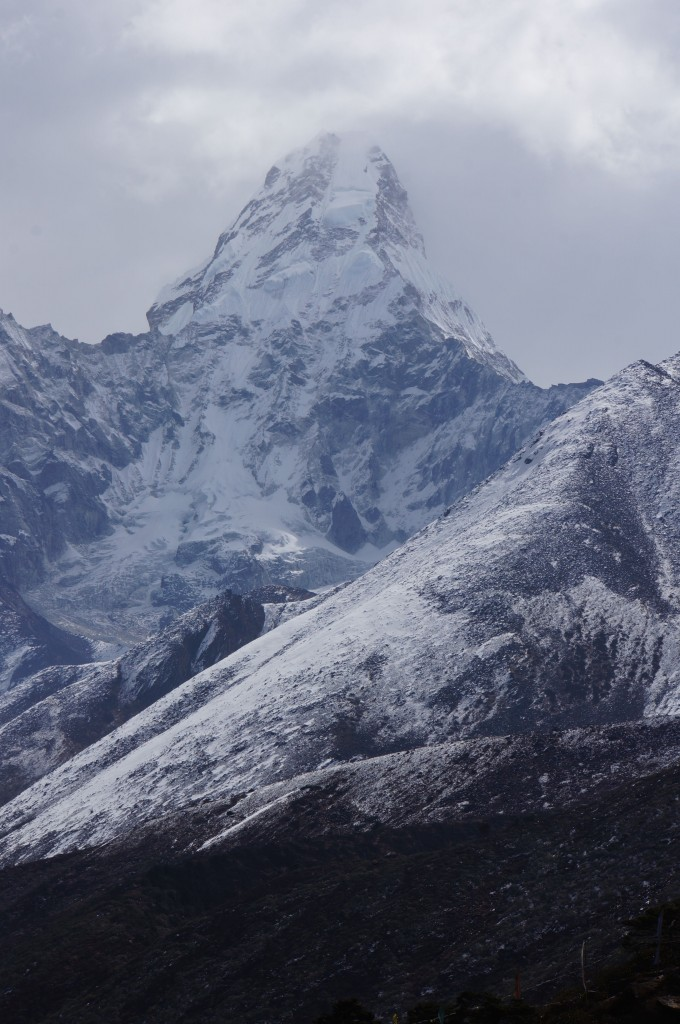 Ama Dablam as seen from Tengboche.