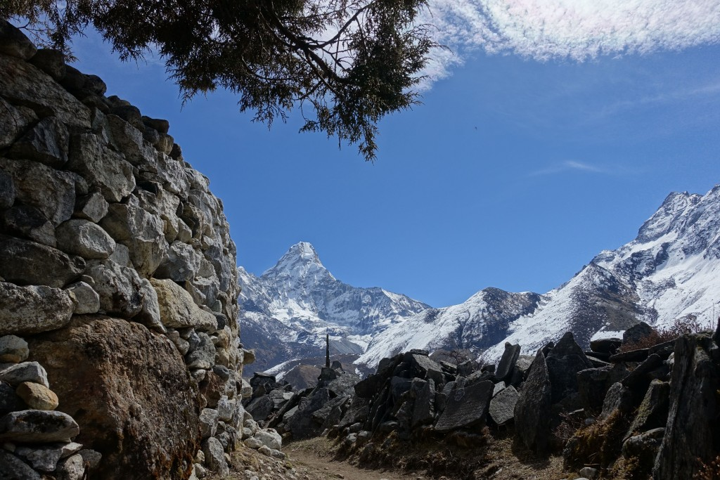Ama Dablam from Pangboche. (Photo: Blake Penson)