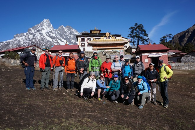 Team Awesome, Himalayan Chapter. (Photo: Justin Merle)