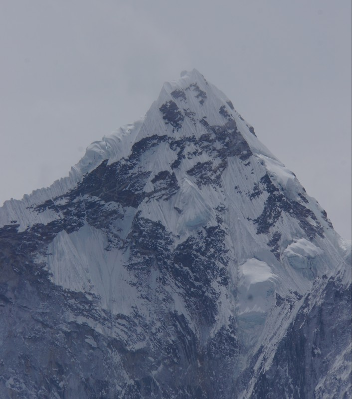Ama Dablam looks on... she brooks no fools.