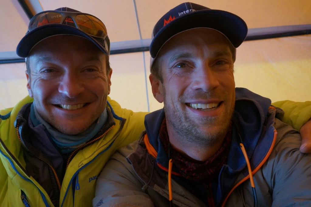 Andy and Justin, two awesome guides.  (Photo: Justin Merle)