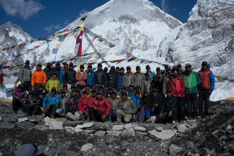 Sherpa team IMG 2015.  (Photo: Justin Merle)