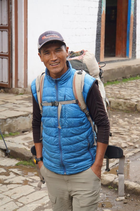 Tunang is one of our awesome sherpa guides.