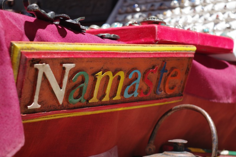 A hearty welcome at Namche. (Photo: Kim Hess)