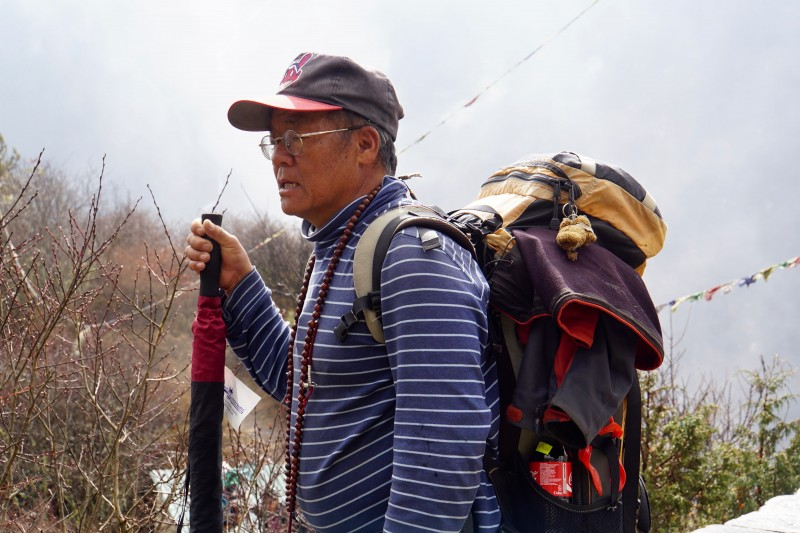 Lopsang, our amazing trekking sirdar.