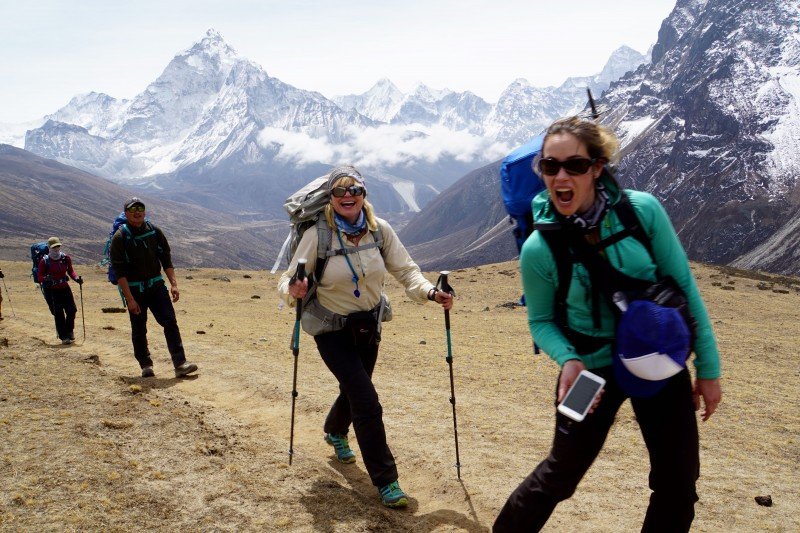 Yep. The women of IMG Everest really are this awesome.