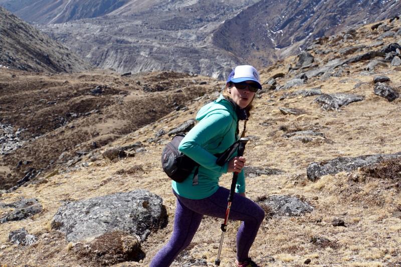 Kim Hess Climbs.
