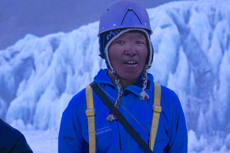 Ang Pemba, my amazing Sherpa guide on this rotation.
