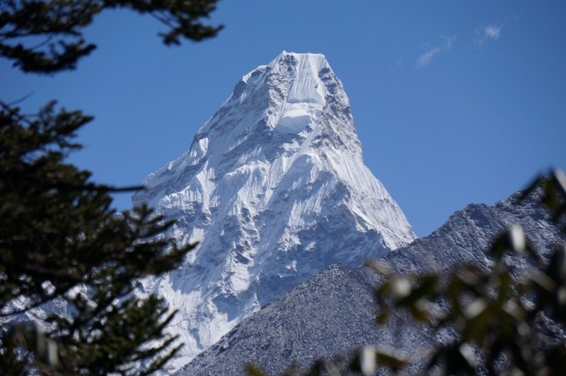 Ama Dablam.  Boom.  (Photo: Justin Merle)