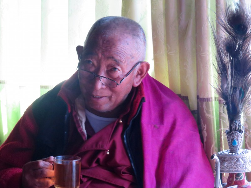 Lama Geshi, a wise and kind man. (Photo: Teresa Hagerty)
