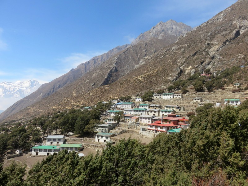 Pangboche, home of Lama Geshi. (Photo: Teresa Hagerty)