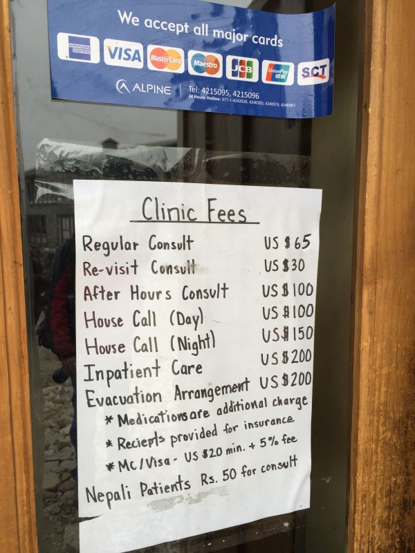 HRA Fees are very reasonable. These fees subsidize the care provided virtually for free for the Sherpa.