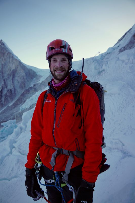 Justin Merle. IMG mountain guide. And super nice dude.