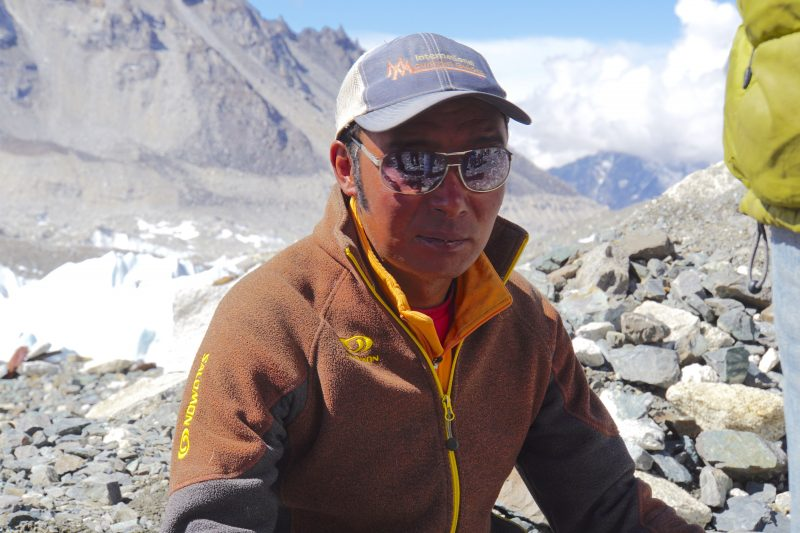 Mingma Sherpa, a legend on Everest.