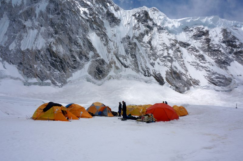 Camp 1, Nuptse beyond. (Photo: Justin Merle)