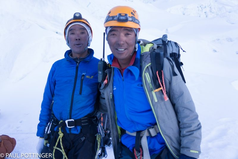 Pasang Kami Sherpa and Mingma Sherpa: Brothers, and amazing guides.
