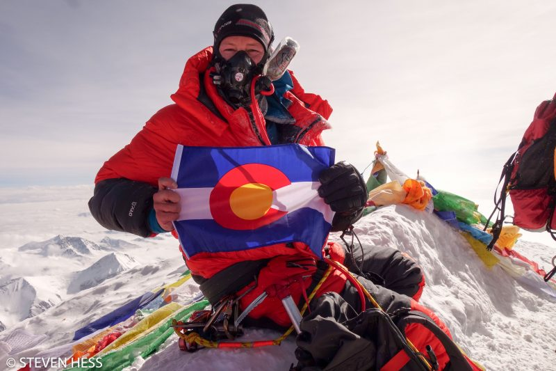 Steven Hess is a loyal Coloradan, for sure. (Photo: Steven Hess)
