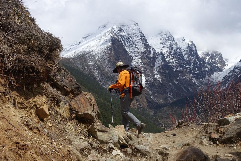 Up into more scrub-like terrain. (Photo: Blake Penson)