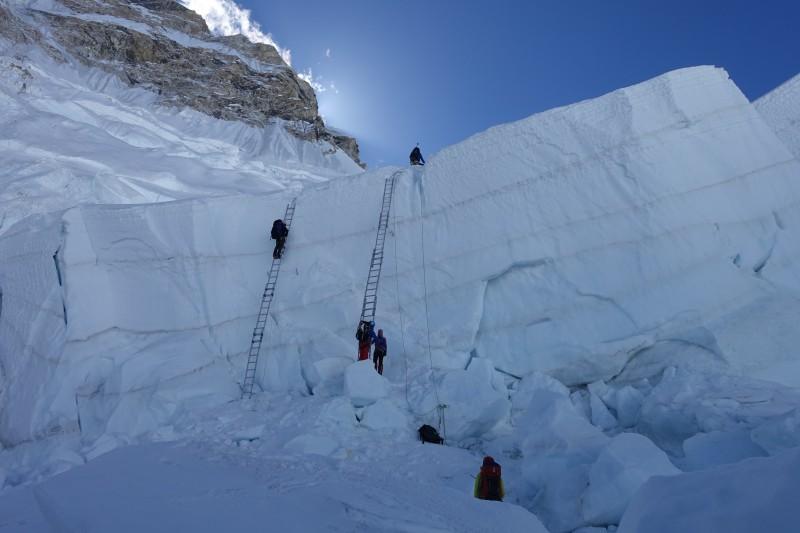 The parallel quad ladders. (Photo: Blake Penson)