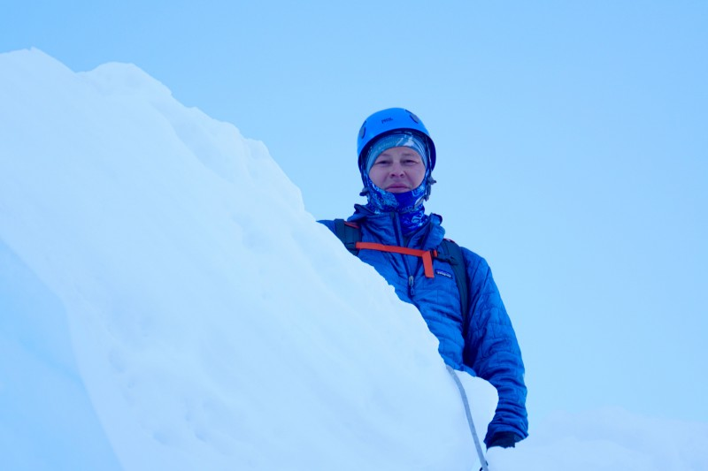 Steven Hess, Himalayan climber.