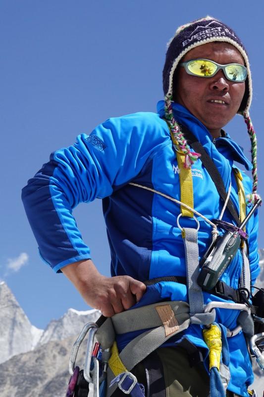 Ang Pemba Sherpa.